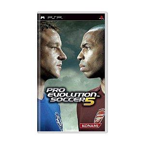 Jogo Pro Evolution Soccer 5 - PSP