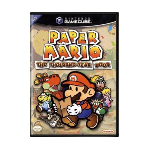 Jogo Paper Mario: The Thousand-Year Door - GameCube