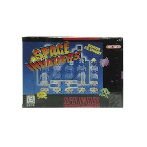 Jogo Space Invaders - SNES (Lacrado)