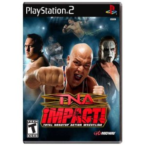 Jogo TNA Impact! Total Nonstop Action Wrestling - PS2