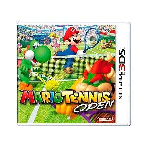 Jogo Mario Tennis Open - 3DS
