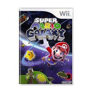 Jogo Super Mario Galaxy - Wii
