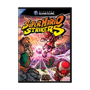Jogo Super Mario Strikers - GameCube