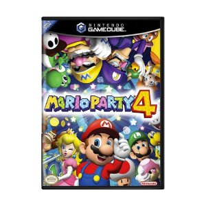 Jogo Mario Party 4 - GC - GameCube