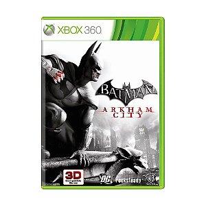 Jogo Batman Arkham City - Xbox 360 [Europeu]
