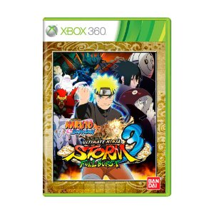 Jogo Naruto Shippuden: Ultimate Ninja Storm 3 Full Burst - Xbox 360