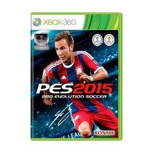 Jogo Pro Evolution Soccer 2015 (PES 15) - Xbox 360