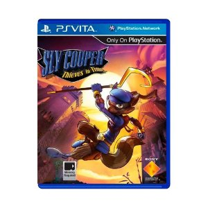 Jogo Sly Cooper: Thieves in Time - PS Vita