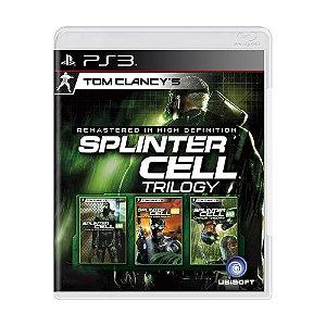 Jogo Tom Clancy's: Splinter Cell Trilogy - PS3