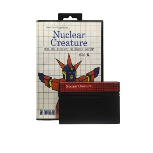 Jogo Nuclear Creature - Master System