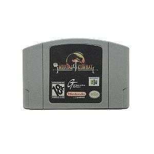 Jogo Mortal Kombat 4 - N64