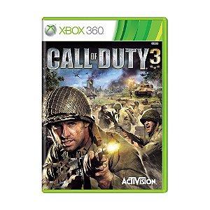 Jogo Call of Duty 3 - Xbox 360