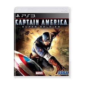 Jogo Captain America: Super Soldier - PS3