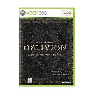 Jogo The Elder Scrolls IV: Oblivion (GOTY) - Xbox 360