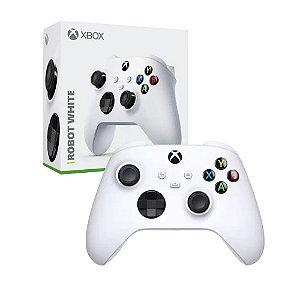 Controle Microsoft Robot White sem fio - Series X, S, One