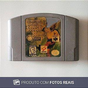 Jogo International Superstar Soccer '98 - N64