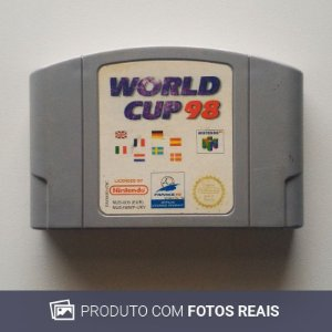 Jogo World Cup 98 - N64 [Europeu]