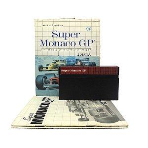 Jogo Super Monaco GP - Master System