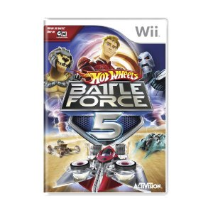 Jogo Hot Wheels: Battle Force 5 - Wii