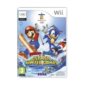 Jogo Mario & Sonic at the Olympic Winter Games - Wii (Europeu)