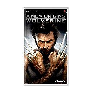 Jogo X-Men Origins: Wolverine - PSP
