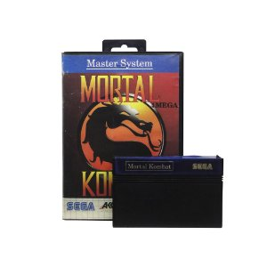 Jogo Mortal Kombat - Master System