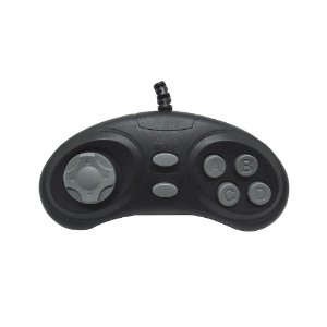 Controle Mini XK-618 - Mega Drive