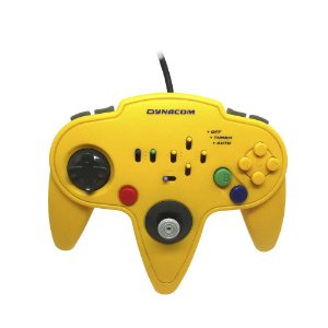 Controle Paralelo Nintendo 64 Amarelo - Dynacom