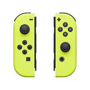 Controle Nintendo Joy-Con (Direito e Esquerdo) Amarelo Neon - Switch