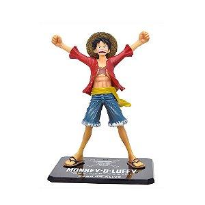 Action Figure Monkey D. Luffy (One Piece New World Version - Figuarts Zero) - Bandai