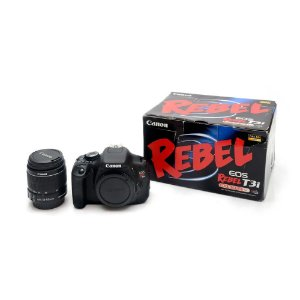 Câmera EOS Rebel T3i - Canon