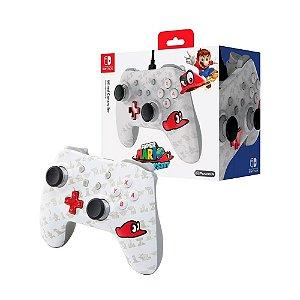 Controle PowerA Super Mario Odyssey - Nintendo Switch
