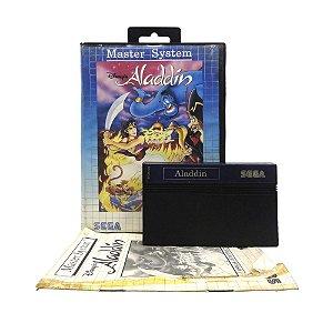 Jogo Disney's Aladdin - Master System