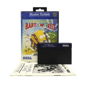 Jogo The Simpsons: Bart vs. The World - Master System