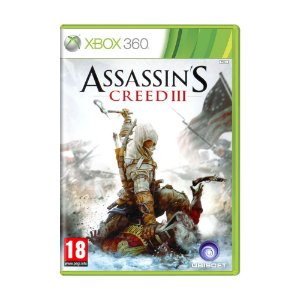 Jogo Assassin's Creed III - Xbox 360 (Europeu)