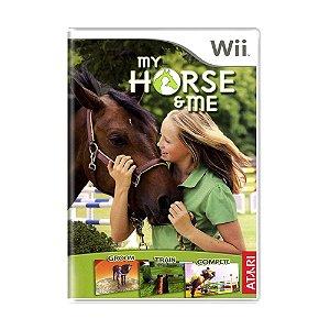 Jogo My Horse & Me - Wii