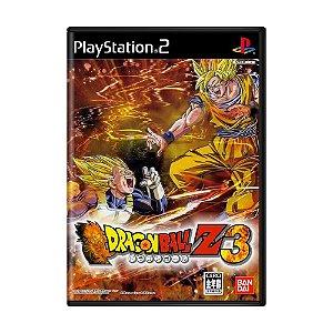 Jogo Dragon Ball Z: Budokai 3 - PS2 (Japonês)