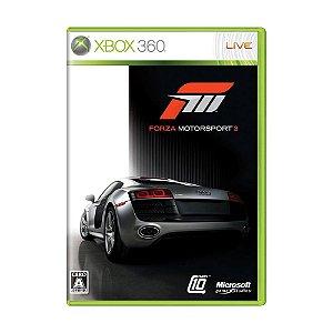 Jogo Forza Motorsport 3 - Xbox 360 (Japonês)