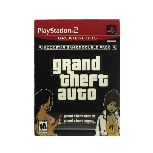 Jogo Grand Theft Auto III & Vice City (Double Pack) - PS2