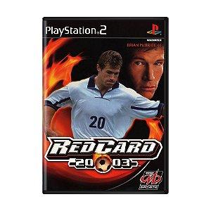 Jogo RedCard 20-03 - PS2