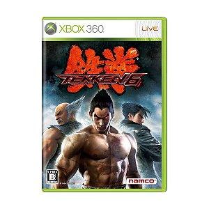 Jogo Tekken 6 - Xbox 360 (Japonês)