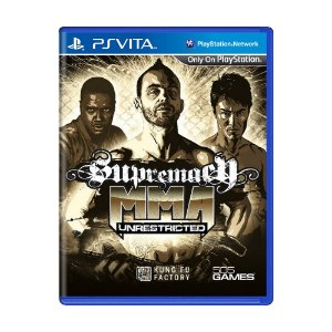 Jogo Supremacy MMA: Unrestricted - PS Vita
