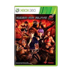 Jogo Dead or Alive 5 - Xbox 360