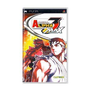 Jogo Street Fighter Alpha Max 3 - PSP