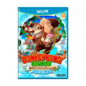 Jogo Donkey Kong Country Tropical Freeze - Wii U