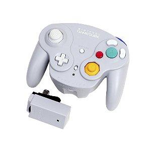 Controle WaveBird GameCube Cinza sem fio - Nintendo