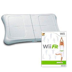 Jogo Wii Fit + Balance Board - Nintendo