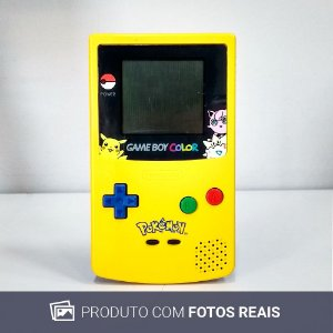 Game Boy Color (Pikachu Edition) - Nintendo