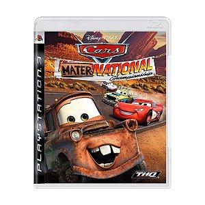 Jogo Cars Mater-National Championship - PS3