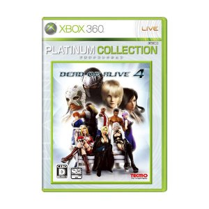 Jogo Dead or Alive 4 - Xbox 360 (Japonês)